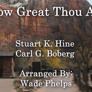How Great thou art Singalong Christian Video HD With perfectly timed Lyrics. Easy to follow and sing Video & Audio to enhance the Worship experience