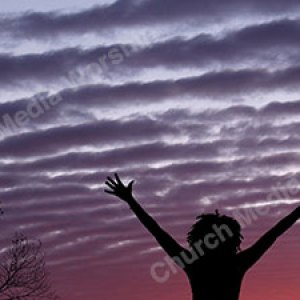 Woman in worship V51 Christian Worship Background. High quality worship images for use to spread the Gospel and enhance the worship experience.