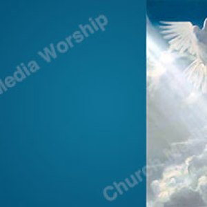 This is my beloved son sky blue Christian Worship Background. High quality worship images for use to spread the Gospel and enhance the worship experience.