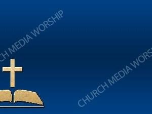 Bible Cross Symbol Deep Blue Christian Background Images HD