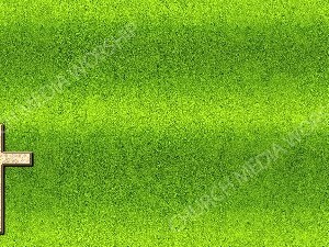 Cross Symbol - Green Christian Background Images HD
