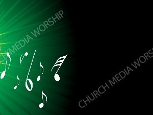 Flare with Notes Green Christian Background Images HD