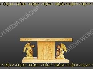Golden Frame - Altar with Angels - Platinum Christian Background Images HD