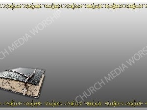 Golden Frame - Bible with Beads - Silver Christian Background Images HD