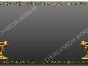 Golden Frame - Chalice - Platinum Christian Background Images HD