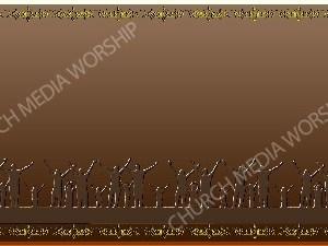 Golden Frame - Family Worship- Bronze Christian Background Images HD
