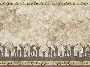 Golden Frame - Family Worship- Stone Christian Background Images HD
