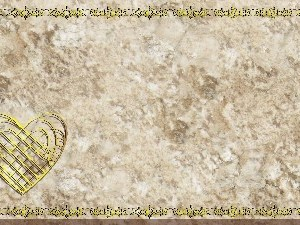 Golden Frame - Heart - Stone Christian Background Images HD