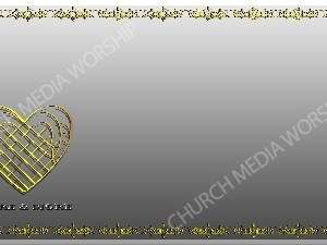 Golden Frame - Love More and More - Silver Christian Background Images HD