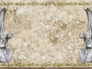Golden Frame - Stone Angels - Stone Christian Background Images HD