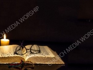 Reading the Bible Christian Worship Background. High quality worship images for use to spread the Gospel and enhance the worship experience.