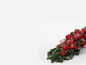 Advent wreath evergreen red bulb pine cone Christian Worship Background. High quality worship images for use to spread the Gospel and enhance the worship experience.