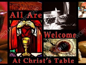 All are welcome Christian Worship Image. High quality worship images for use to spread the Gospel and enhance the worship experience.