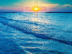 Jesus in Nature V44 Christian Worship Image. High quality worship images for use to spread the Gospel and enhance the worship experience.
