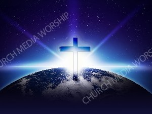 Jesus in Nature V9 Christian Worship Image. High quality worship images for use to spread the Gospel and enhance the worship experience.