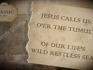 Jesus Calls Us Singalong Christian Video HD. With perfectly timed Lyrics. Easy to follow and sing Video and Audio to enhance the Worship experience.