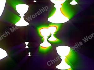 Chalice Rainbow Christian Worship Loop Video Perfectly timed for no glitches in 1080P HD. Room for lyrics
