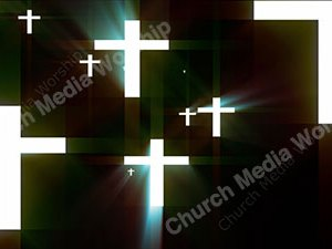 Cross Flashlight Christian Worship Loop Video Perfectly timed for no glitches in 1080P HD. Room for lyrics