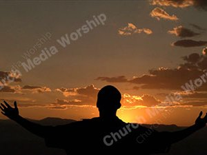 Worship Into The Heavens Christian Video Clip Use as a standalone or added as a clip to make a themed Christian video. Enhance the Worship experience.