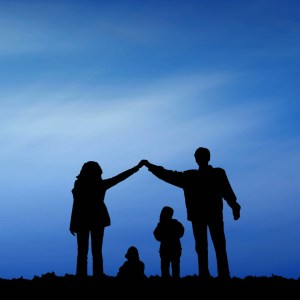 Family Worship as one Blue Sky Christian Worship Loop Video Perfectly timed for no glitches in 1080P HD. Room for lyrics