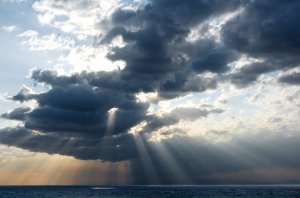 rays and clouds