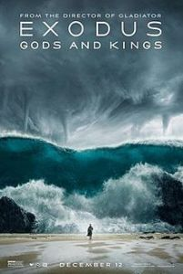 """Movie poster for 2014 """"Exodus: Gods and Kings"""""""