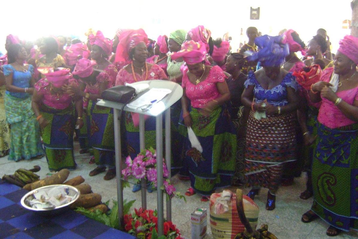 Women fellowship at 2010 TG
