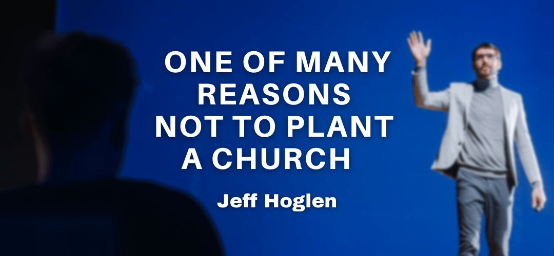 One of many reasons NOT to plant a church