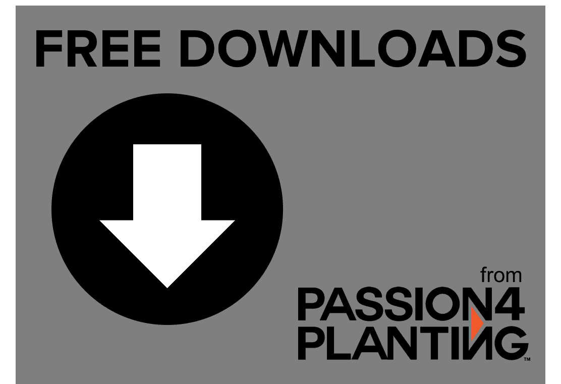 free church plant downloads from passion for planting