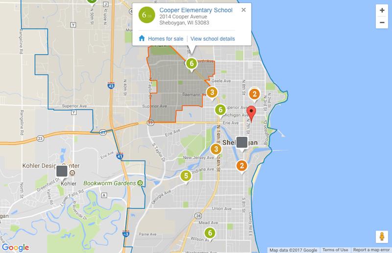 sheboygan school boundary maps