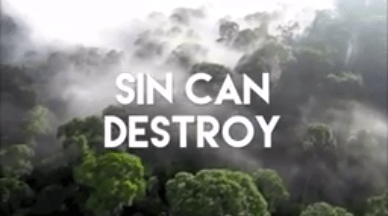 Go And Sin No More Because Sin Will Destroy Your Life