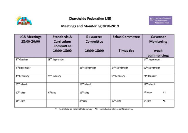thumbnail of LGB Meetings & Monitoring 2018-2019