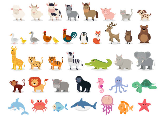 1,068,682 Cartoon Animals Illustrations & Clip Art - iStock