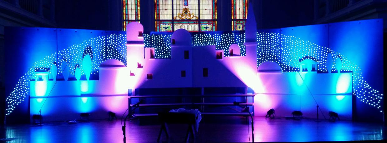 The Bethlehem Set Church Stage Design Ideas