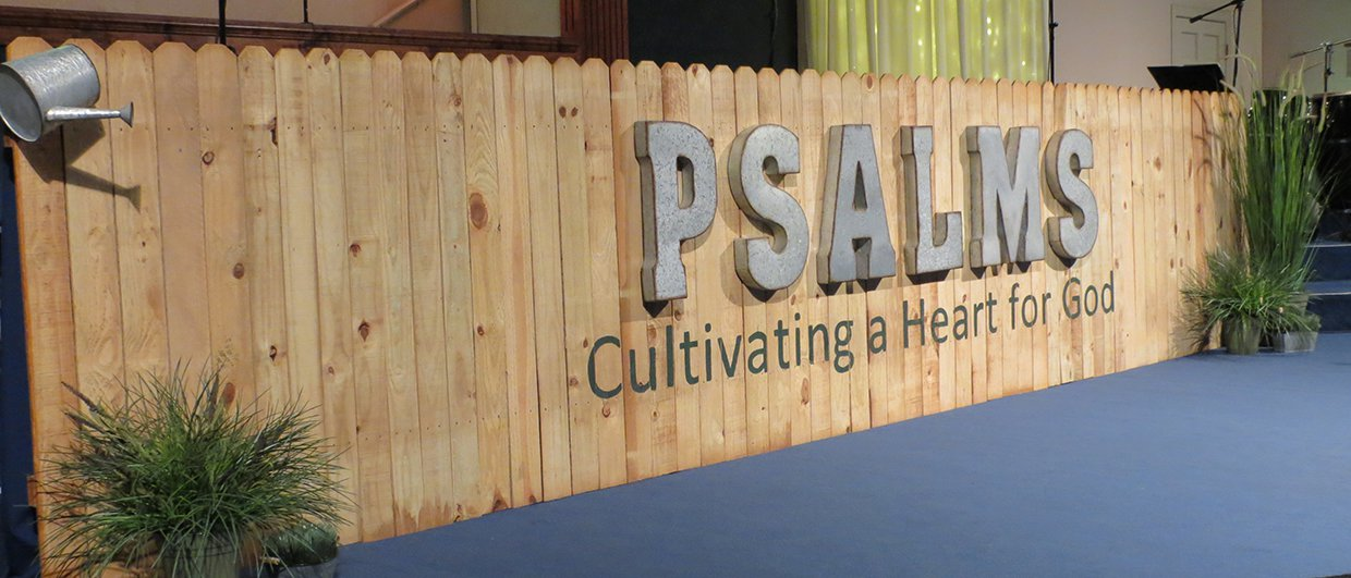 Psalm Fence Church Stage Design Ideas