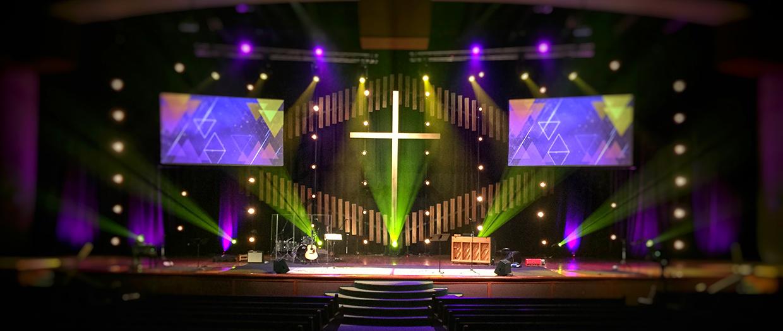 Bellows Church Stage Design Ideas