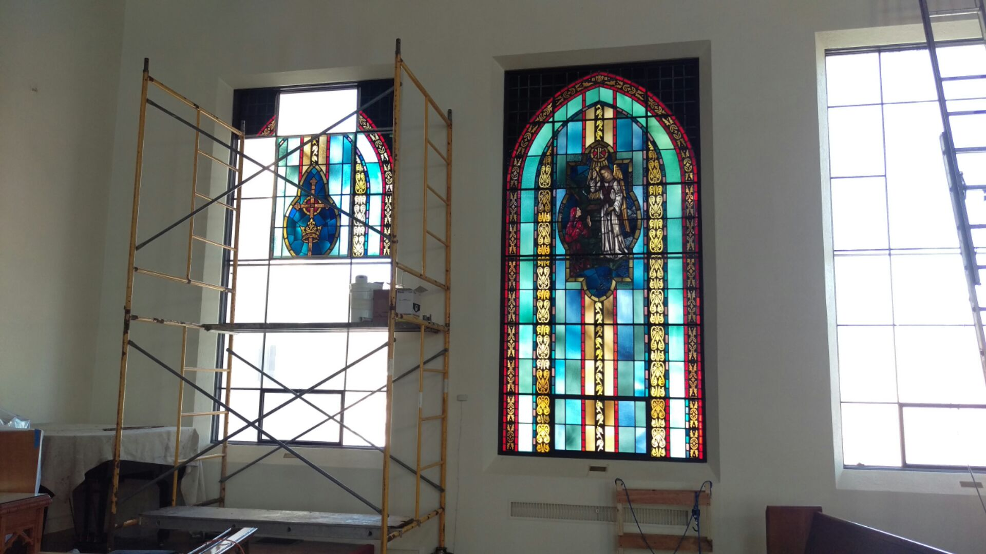 Dallas - Church Stained Glass Restoration