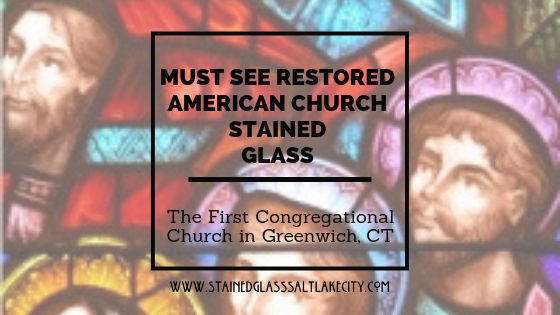 MUST SEE RESTORED AMERICAN CHURCH STAINED GLASS (1)