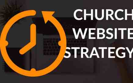 church website strategy time travel clock