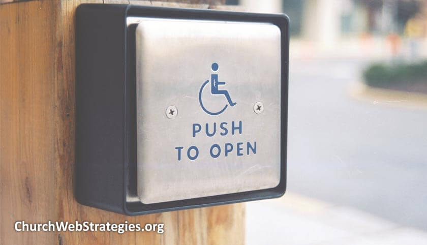 Disabilities and Your Church Website: Visual and Cognitive Impairments