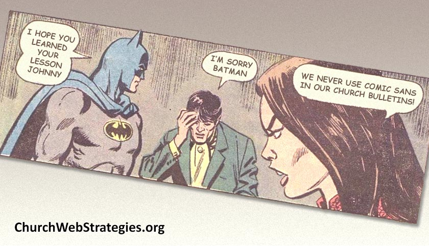 What Church Communications Can Learn from Comics