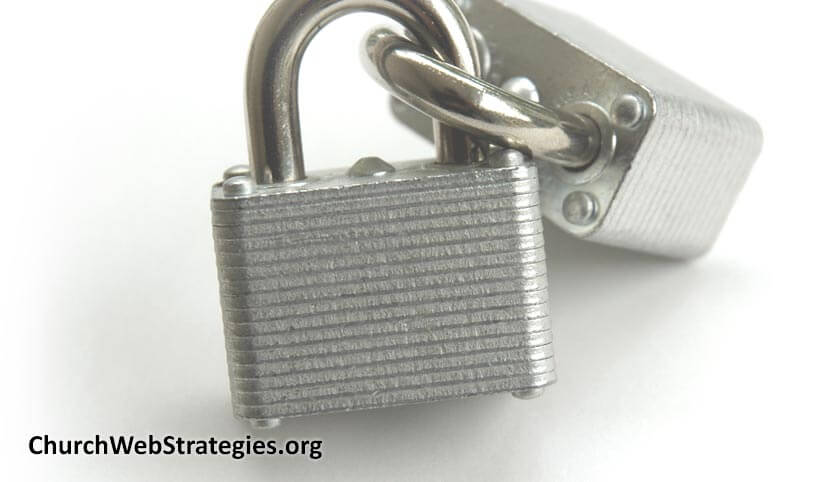Security Best Practices for Church Websites