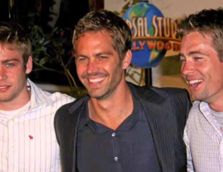 Fast & Furious 7: la resurrección digital de Paul Walker (Bryan O'Conner), y el parecido de sus hermanos quienes participaron en el rodaje.