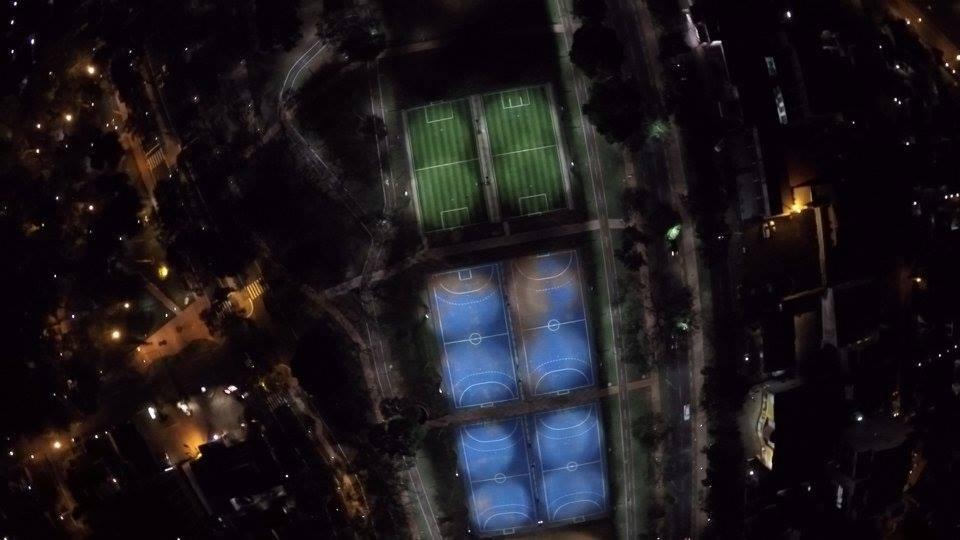 El municipio de CDE habilitó modernas pistas deportivas en el ex-aeropuerto. CDE cada día más hermosa!