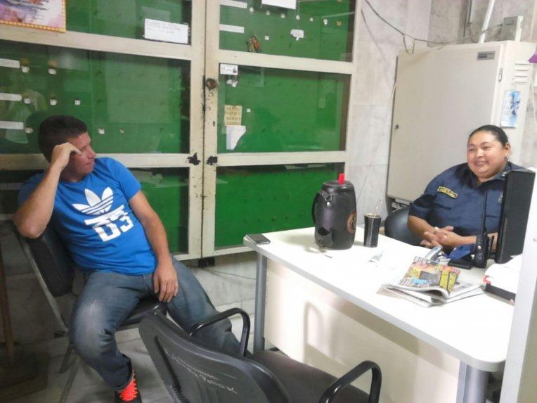Escándalo! El ex futbolista Ángel Ortiz detenido en Tribunales.