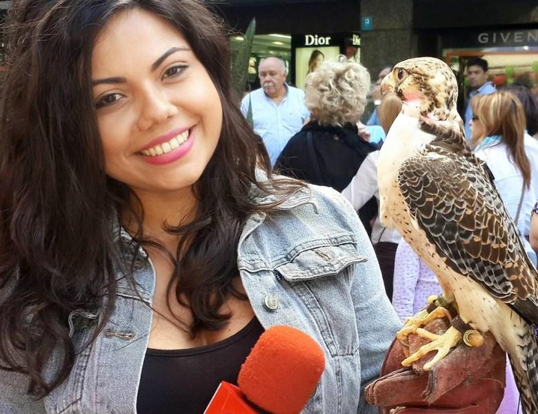 Vivi Insfrán, la reportera sexy de Paravisión contó lo más extraño que le pidió un hombre.