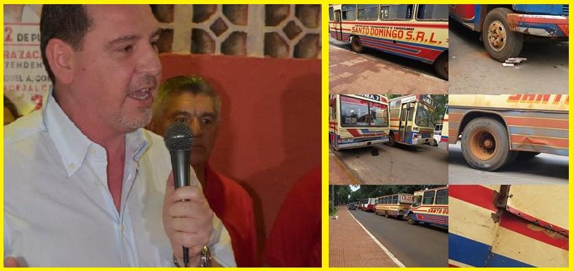 """Javier Zacarias: """"No hay retroceso en el proceso de renovación del Transporte Público"""""""