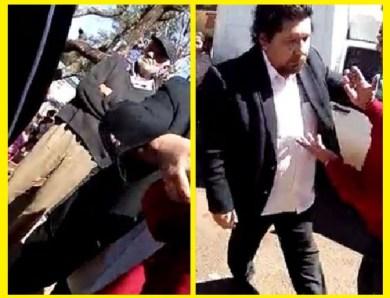 El concejal Cerdo Miranda, borracho, agrede a funcionario municipal de CDE?