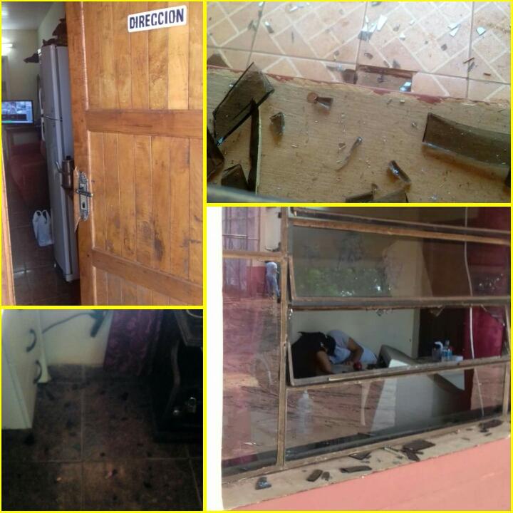 Paraguayo Cubas ocasionó destrozos en la penitenciaría de CDE.