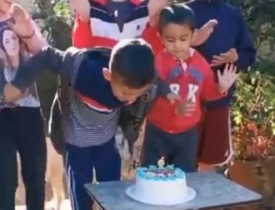 Subestiman al Chure, y ahora hasta fiesta de cumpleaños se alcanzó gracias a la página